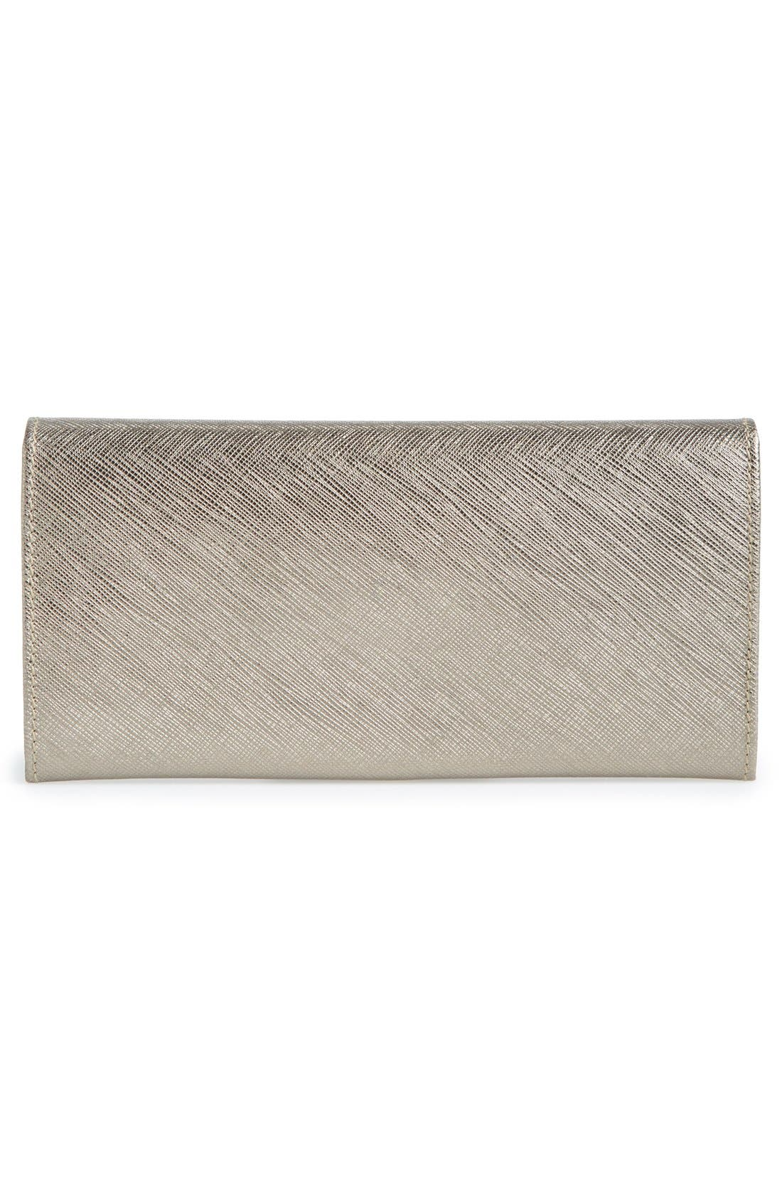 Alternate Image 3  - Salvatore Ferragamo 'Icona Bar' Saffiano Calfskin Wallet