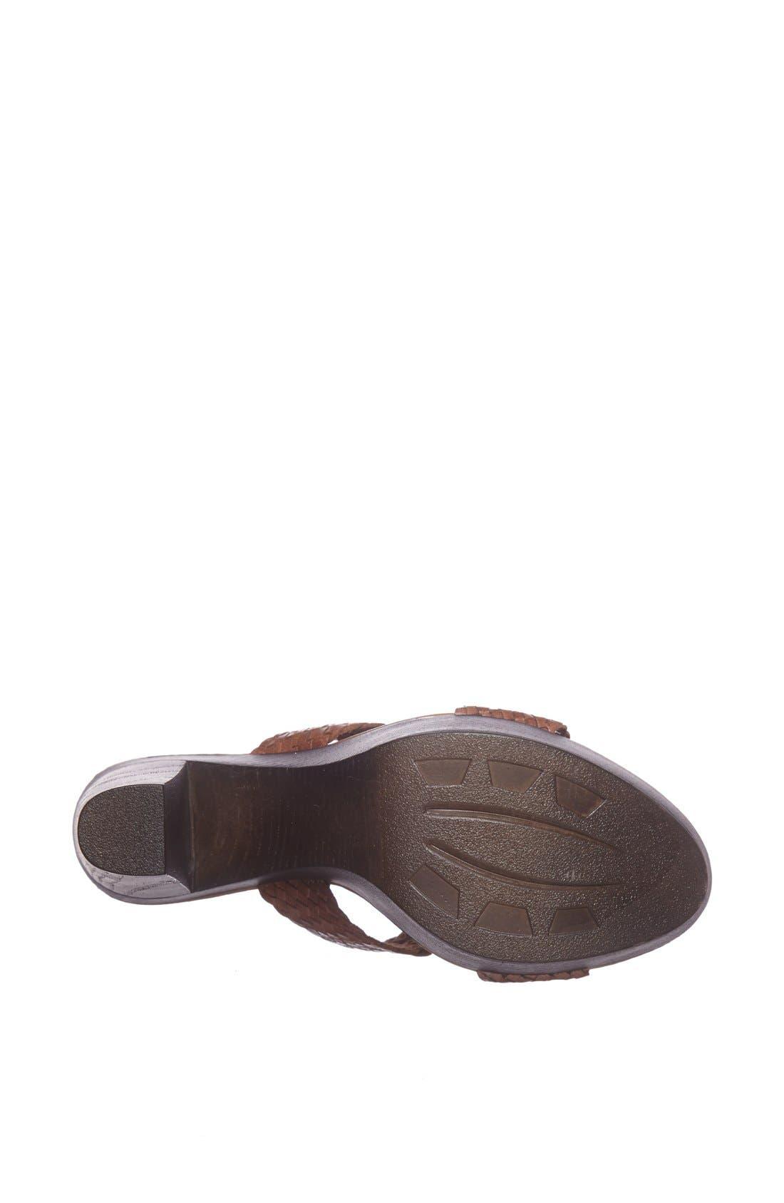 Alternate Image 4  - Callisto 'Order' Platform Sandal