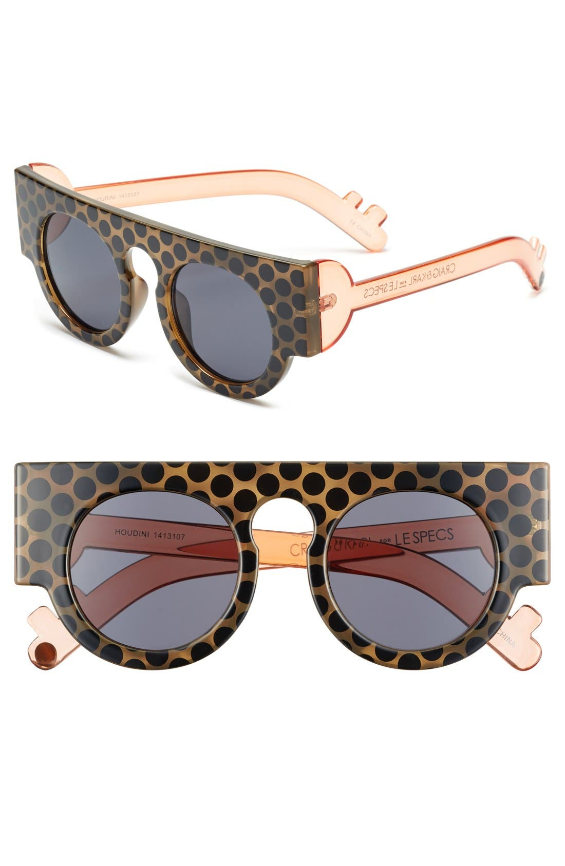 Alternate Image 1 Selected - Craig and Karl x Le Specs 'Houdini' 45mm Sunglasses