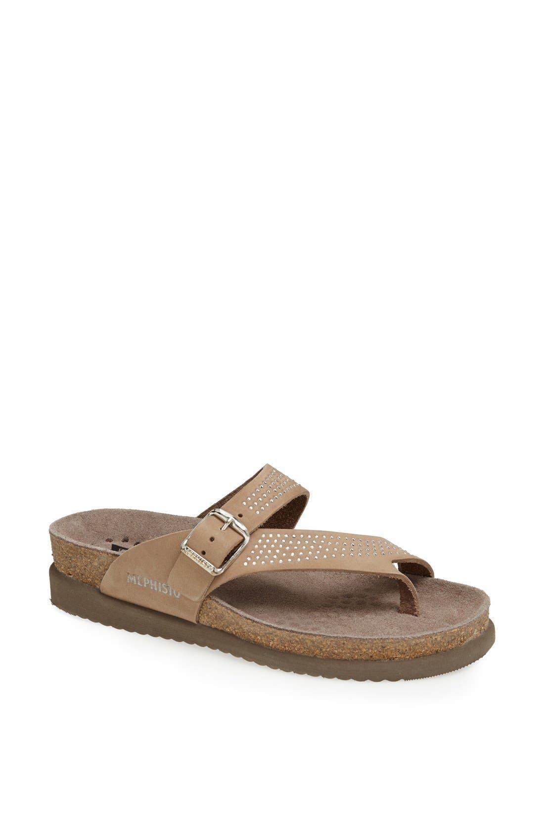 Main Image - Mephisto 'Helen - Spark' Leather Sandal