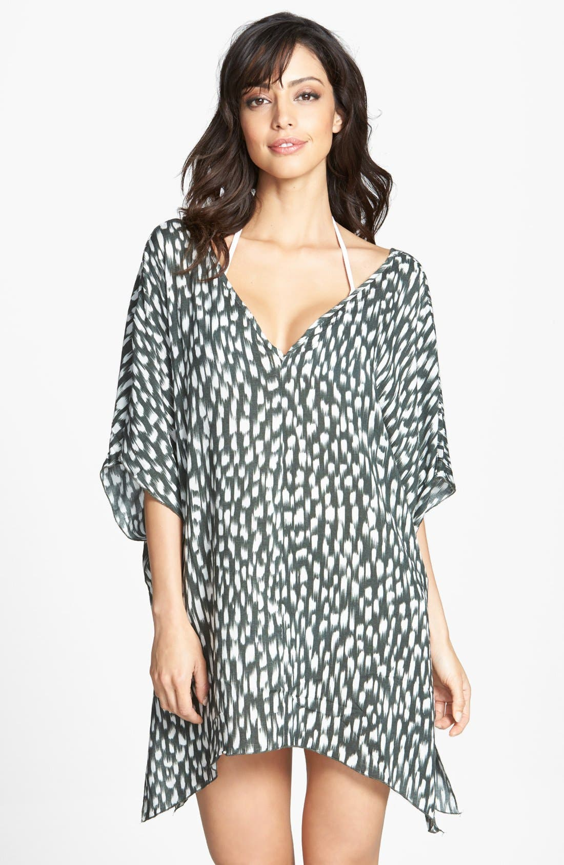 Main Image - Eberjey 'Wild Brush Brielle' Cover-Up Tunic