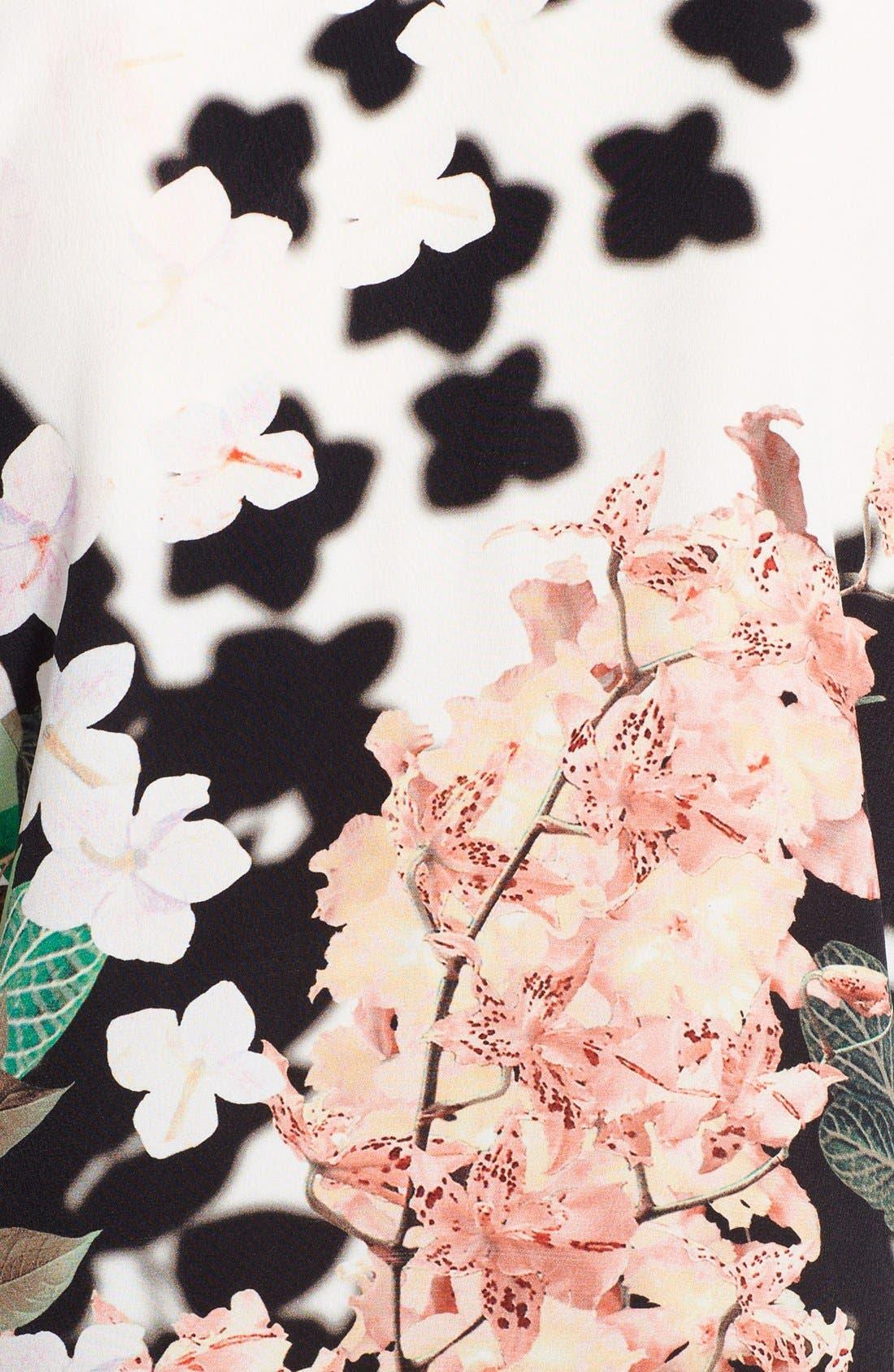 Alternate Image 3  - Roberto Cavalli Print Silk Tunic Dress