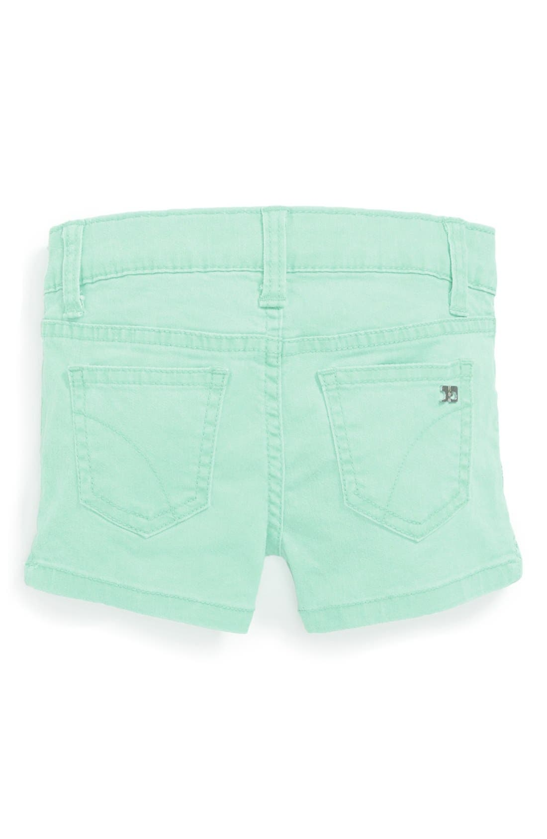 Alternate Image 1 Selected - Joe's Neon Shorts (Toddler Girls)