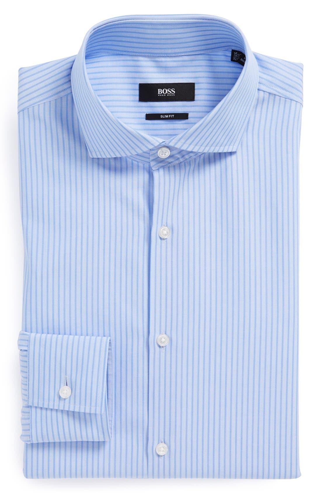 Alternate Image 1 Selected - BOSS HUGO BOSS 'Jason' Slim Fit Dress Shirt