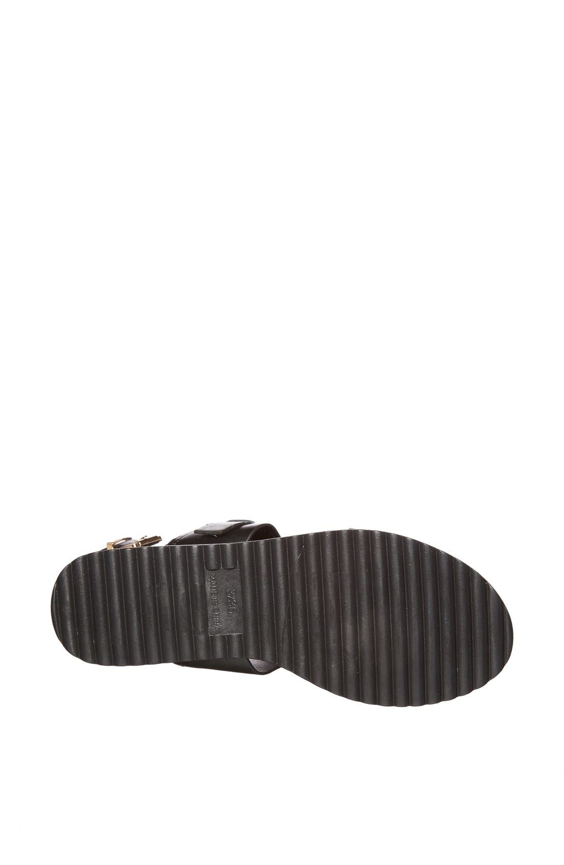 Alternate Image 4  - Topshop 'Hydrate' Faux Leather Sandals