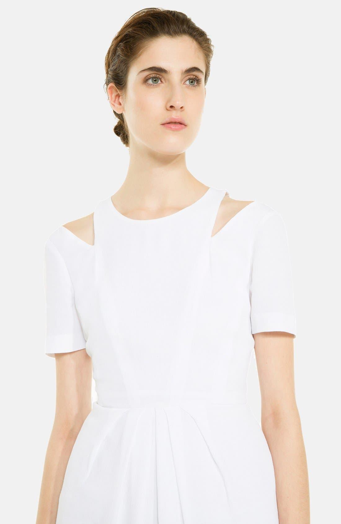 Alternate Image 3  - sandro 'Recompense' Cotton Fit & Flare Dress
