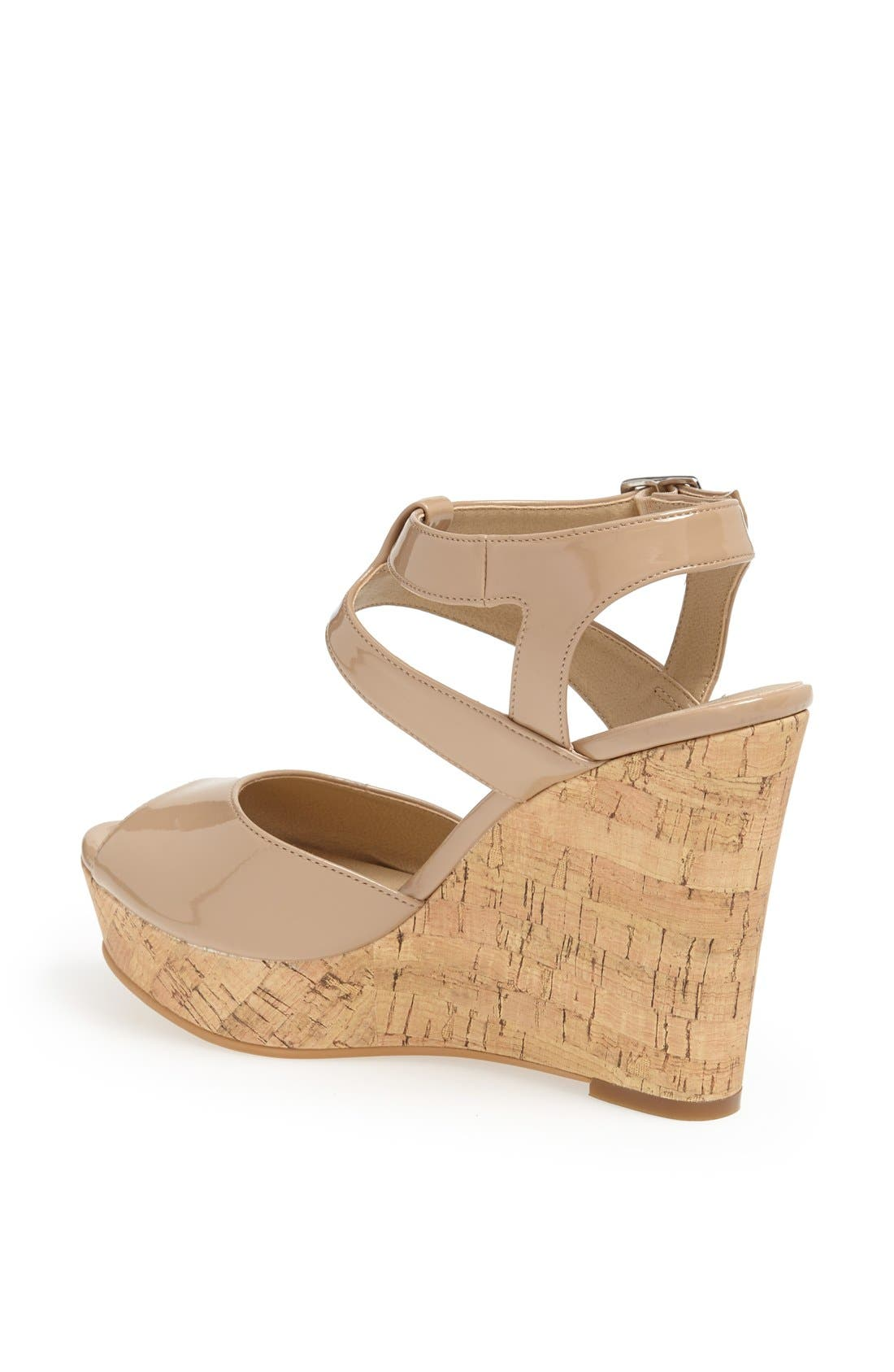 Alternate Image 2  - BP. 'Julia' Patent Wedge Sandal