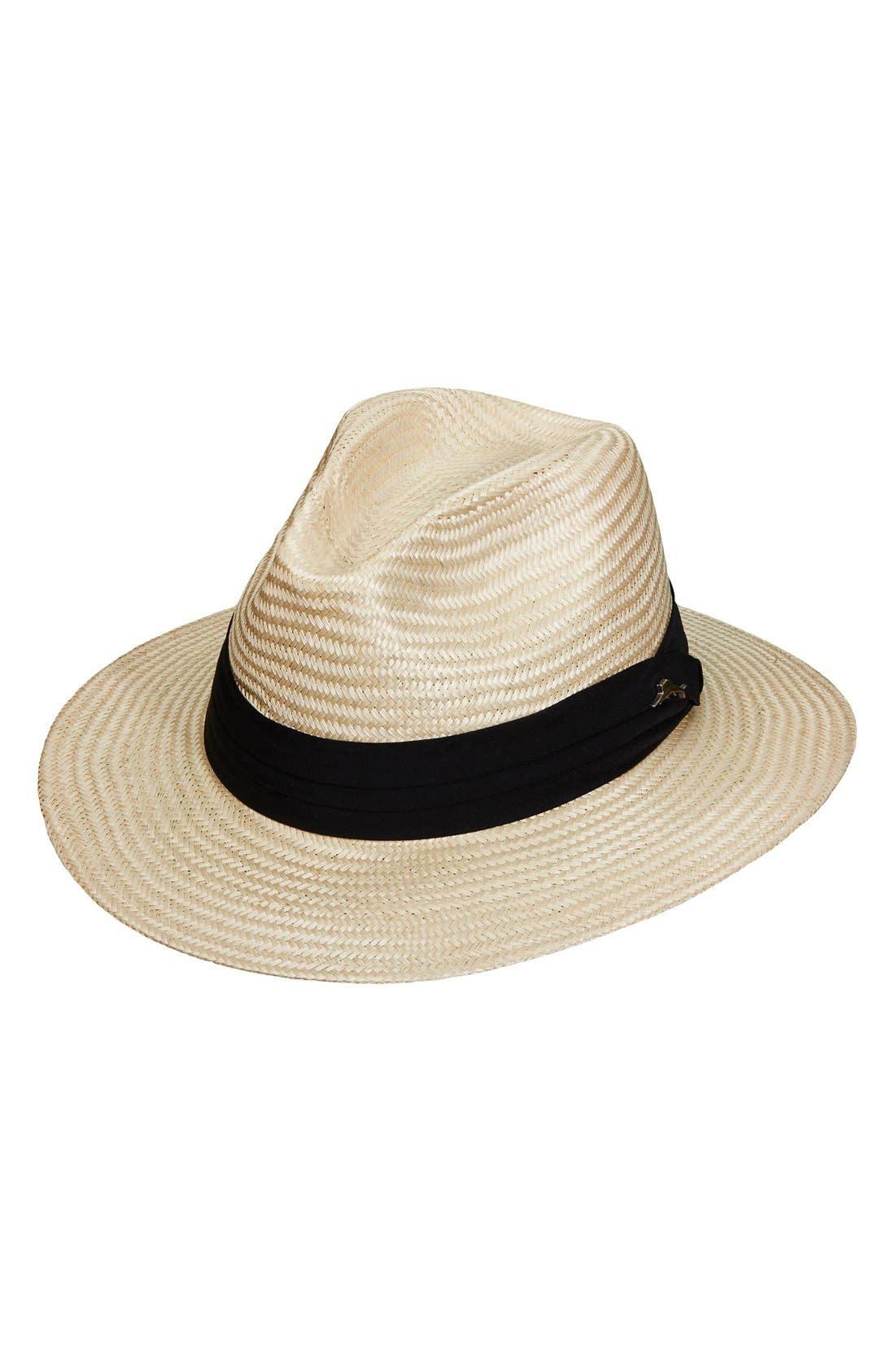 Tommy Bahama Balibuntal Straw Safari Hat