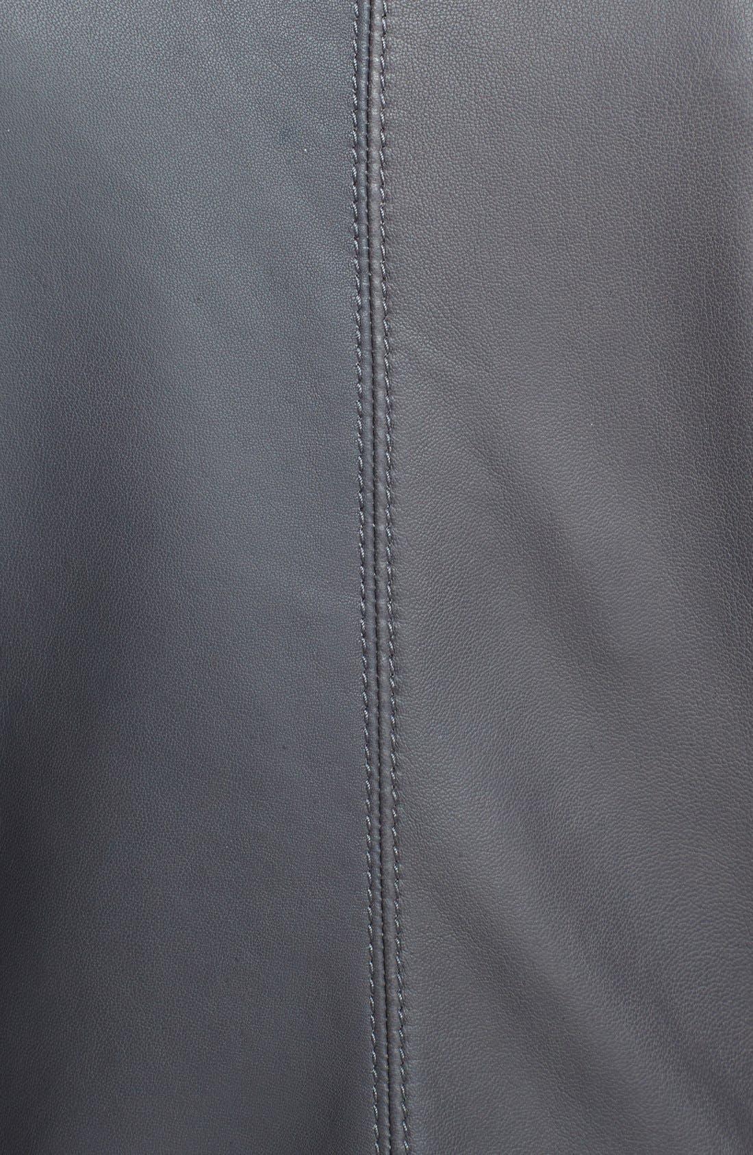 Alternate Image 4  - Armani Collezioni Hand Woven Leather Jacket