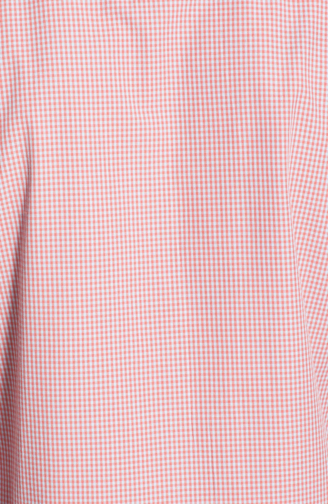 Alternate Image 3  - French Connection Slim Fit Gingham Sport Shirt