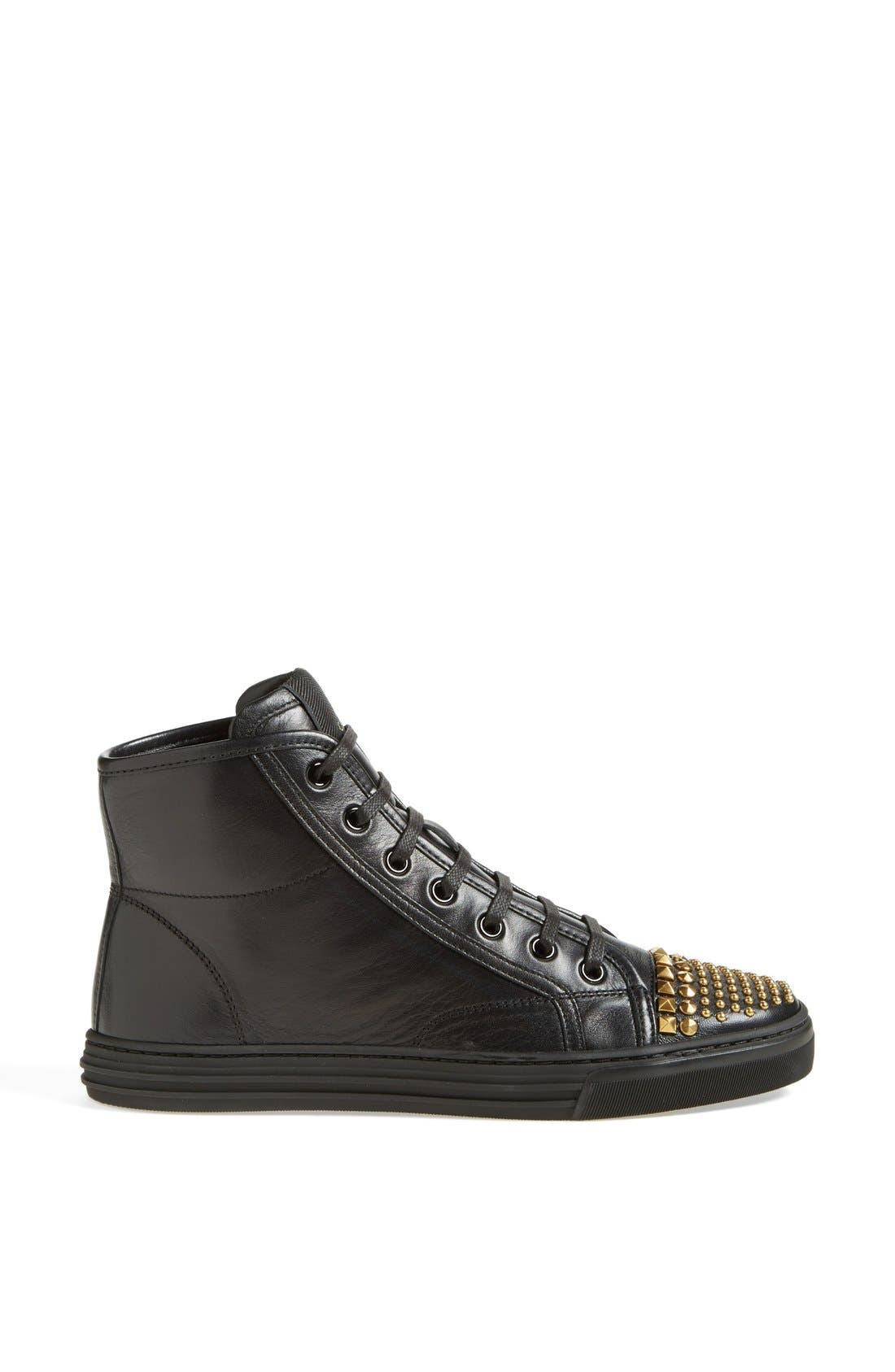 Alternate Image 4  - Gucci 'California' Studded Sneaker (Women)