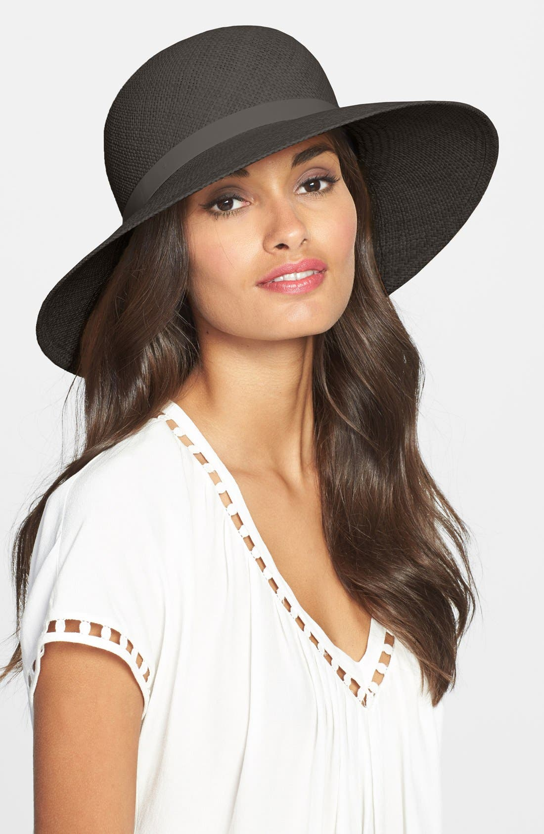 Main Image - rag & bone 'Beach' Wide Brim Straw Hat