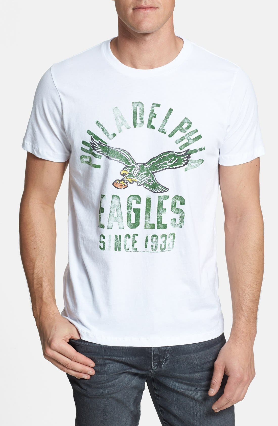 Alternate Image 1 Selected - Junk Food 'Philadelphia Eagles' Graphic T-Shirt