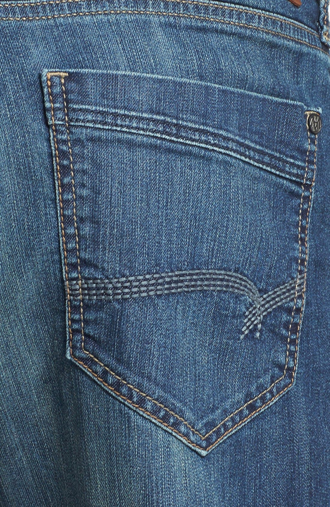 Alternate Image 4  - Mavi Jeans 'Max' Relaxed Fit Jeans (Mid Railtown) (Online Only)