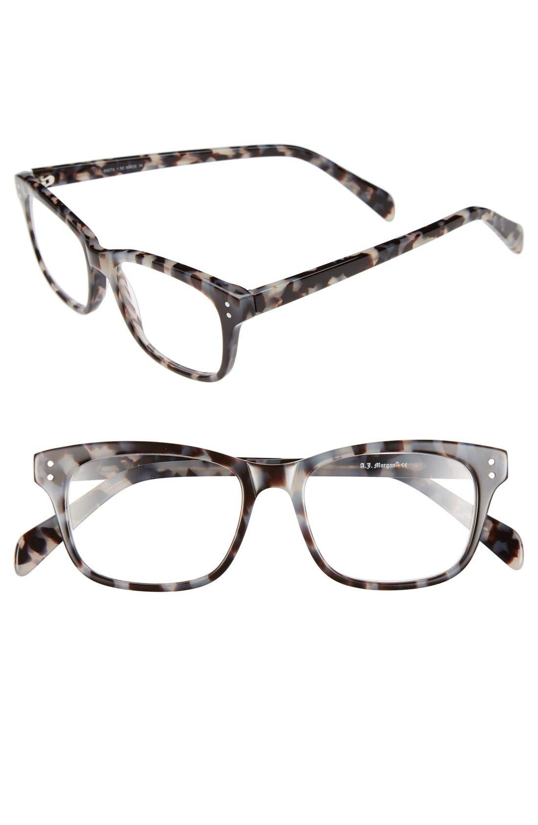 Alternate Image 1 Selected - A.J. Morgan 'Finn' 48mm Reading Glasses