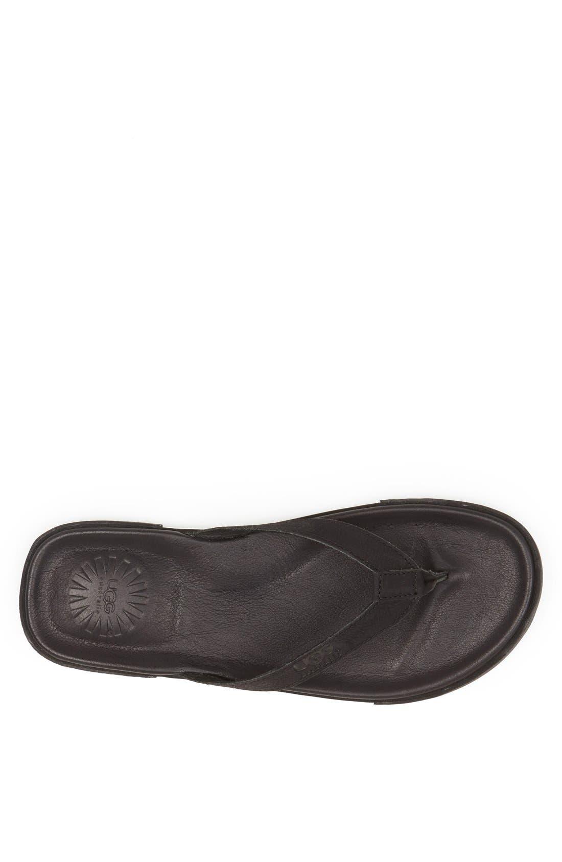 Alternate Image 3  - UGG® 'Bennison II' Flip Flop (Men)