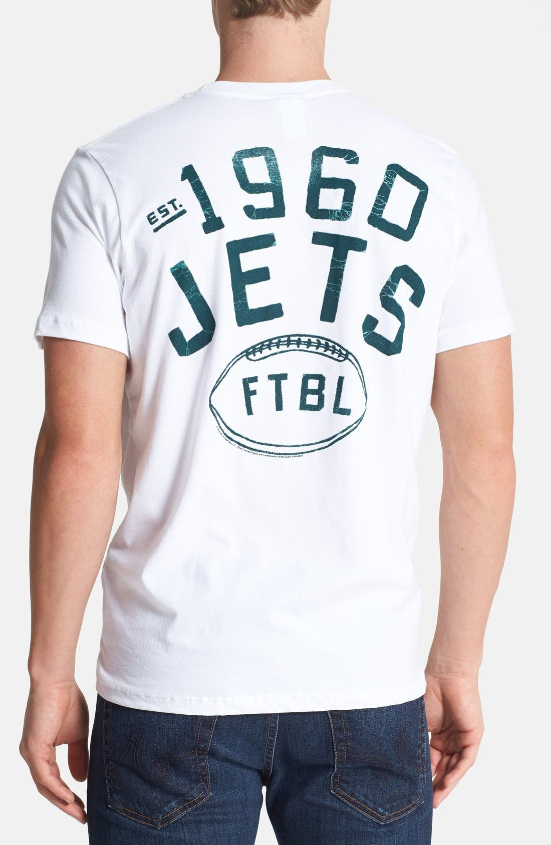 Alternate Image 2  - Junk Food 'New Jersey Jets' Graphic T-Shirt