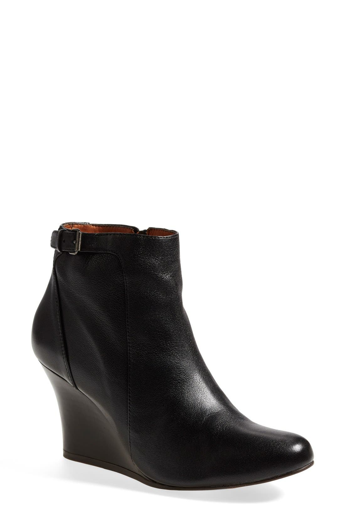 Alternate Image 1 Selected - Lanvin Wedge Ankle Bootie (Women)
