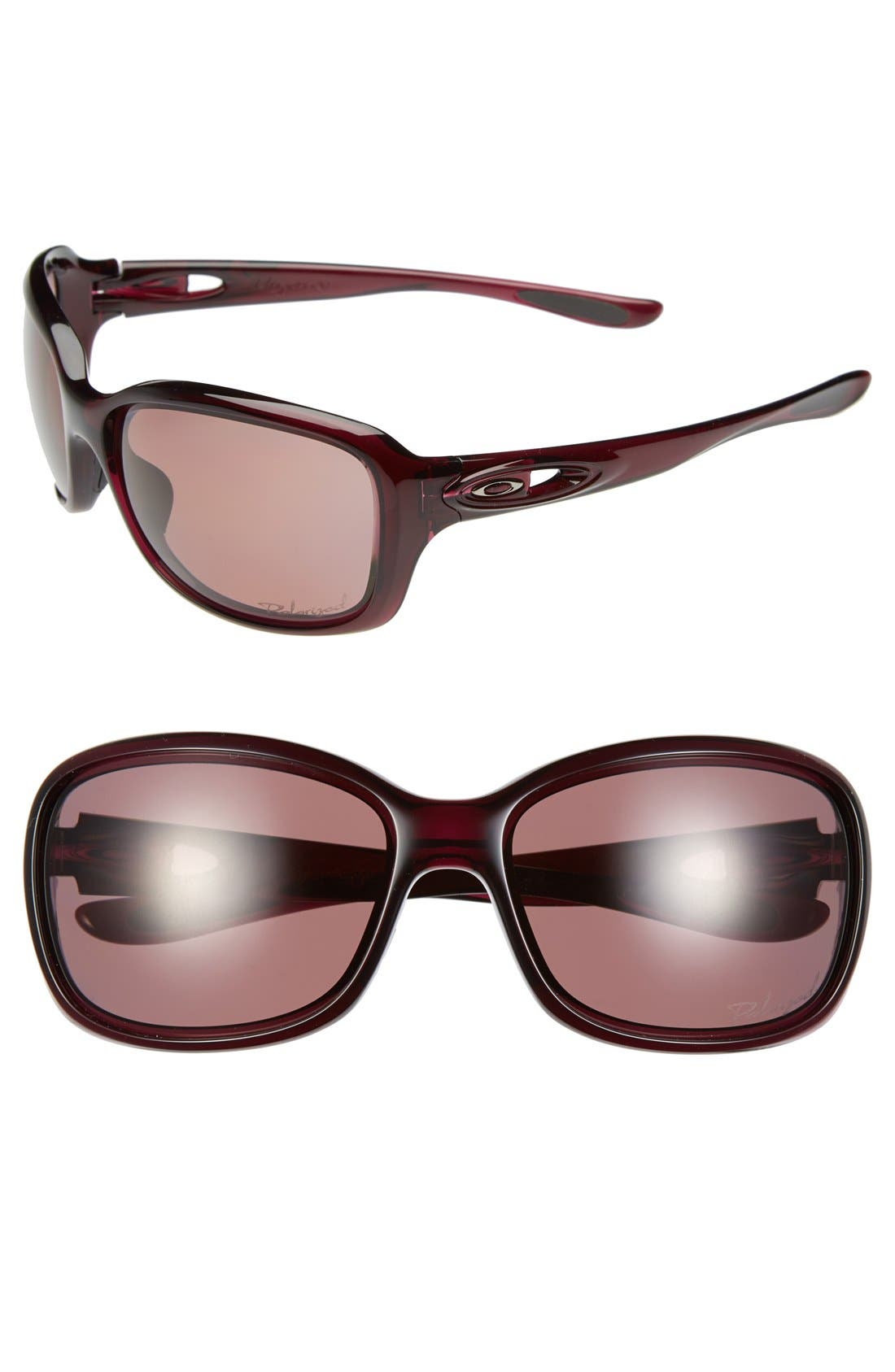 Alternate Image 1 Selected - Oakley 'Urgency' 61mm Polarized Sunglasses