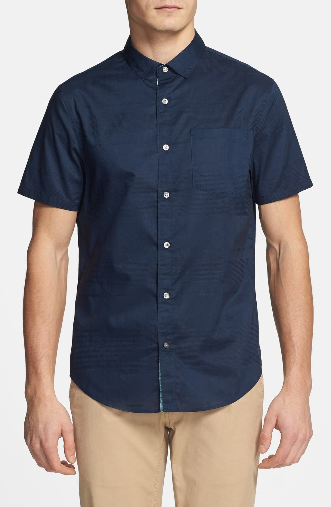 Alternate Image 1 Selected - Original Penguin Short Sleeve Cotton Sport Shirt