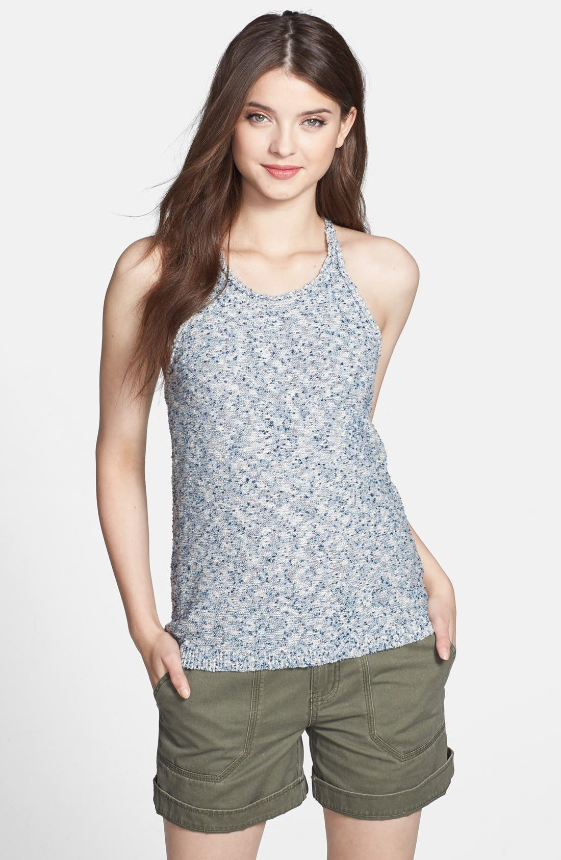 Main Image - Lucky Brand Space Dyed Sweater Tank