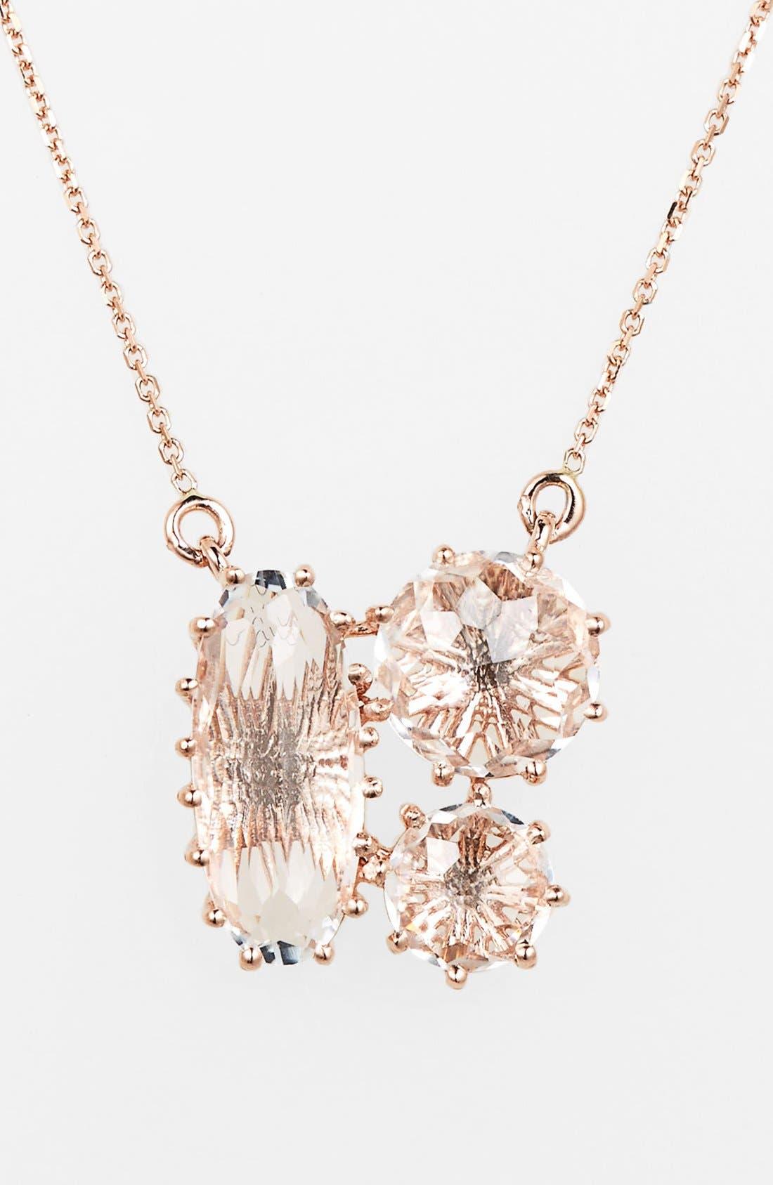 Alternate Image 1 Selected - KALAN by Suzanne Kalan Stone Cluster Pendant Necklace