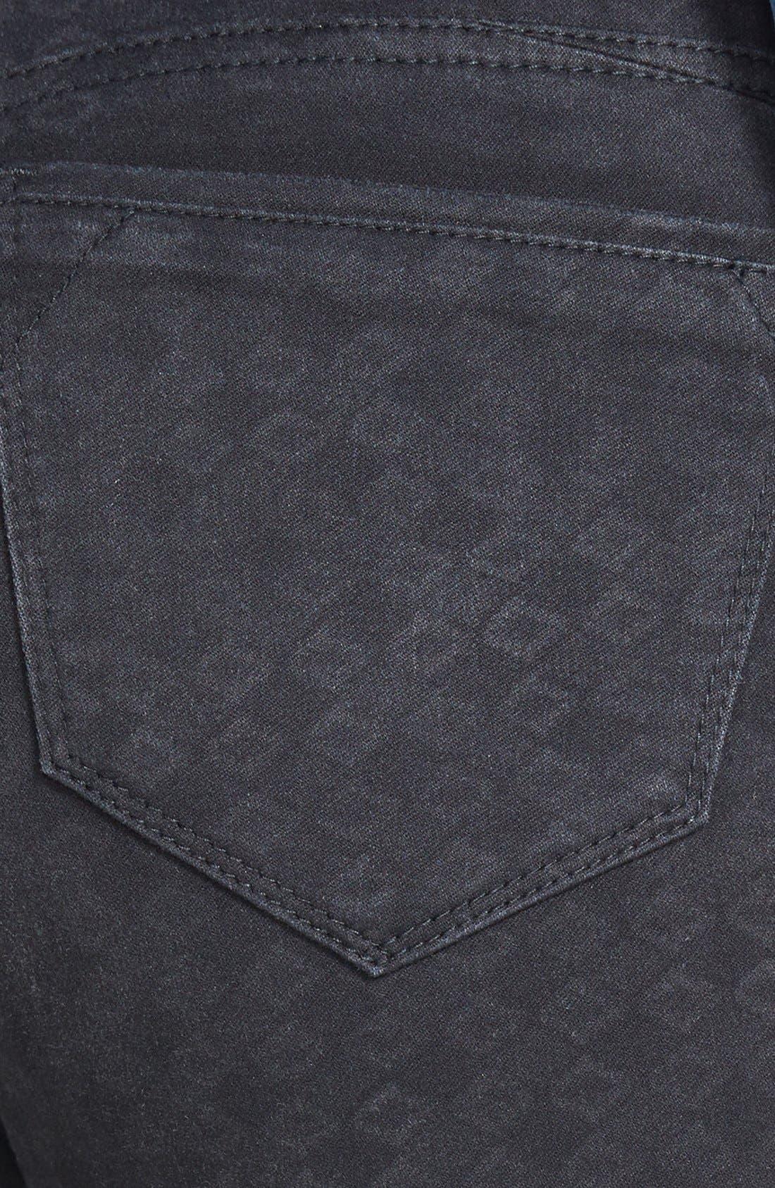 Alternate Image 3  - Wit & Wisdom Diamond Stencil Skinny Jeans (Black) (Nordstrom Exclusive)