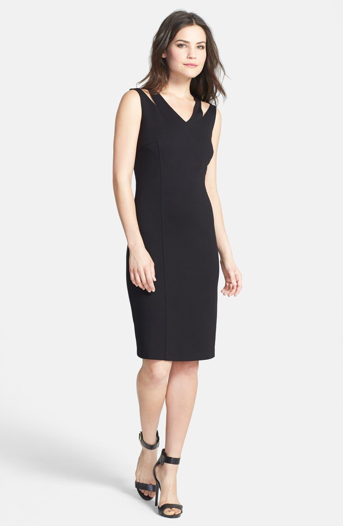 Alternate Image 1 Selected - NIC+ZOE 'Spliced' Sheath Dress