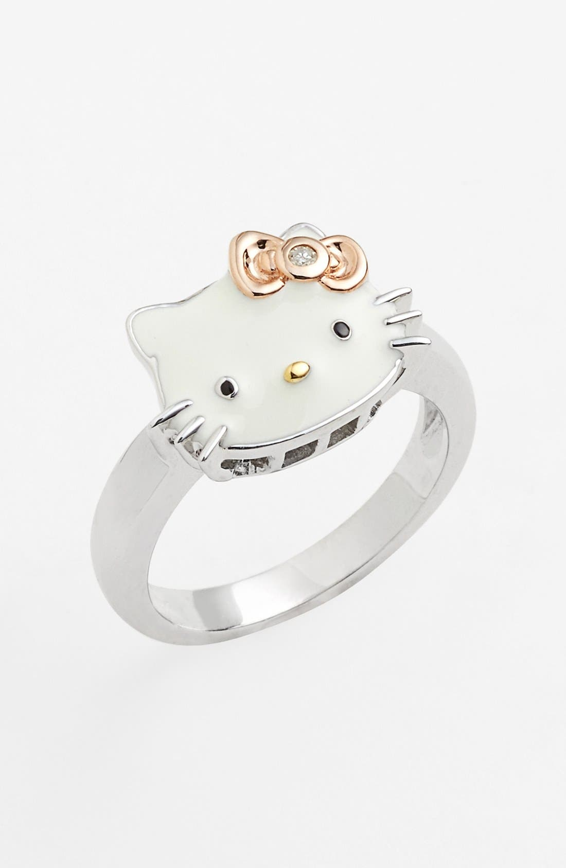 Alternate Image 1 Selected - Hello Kitty® Diamond Ring (Nordstrom Exclusive)