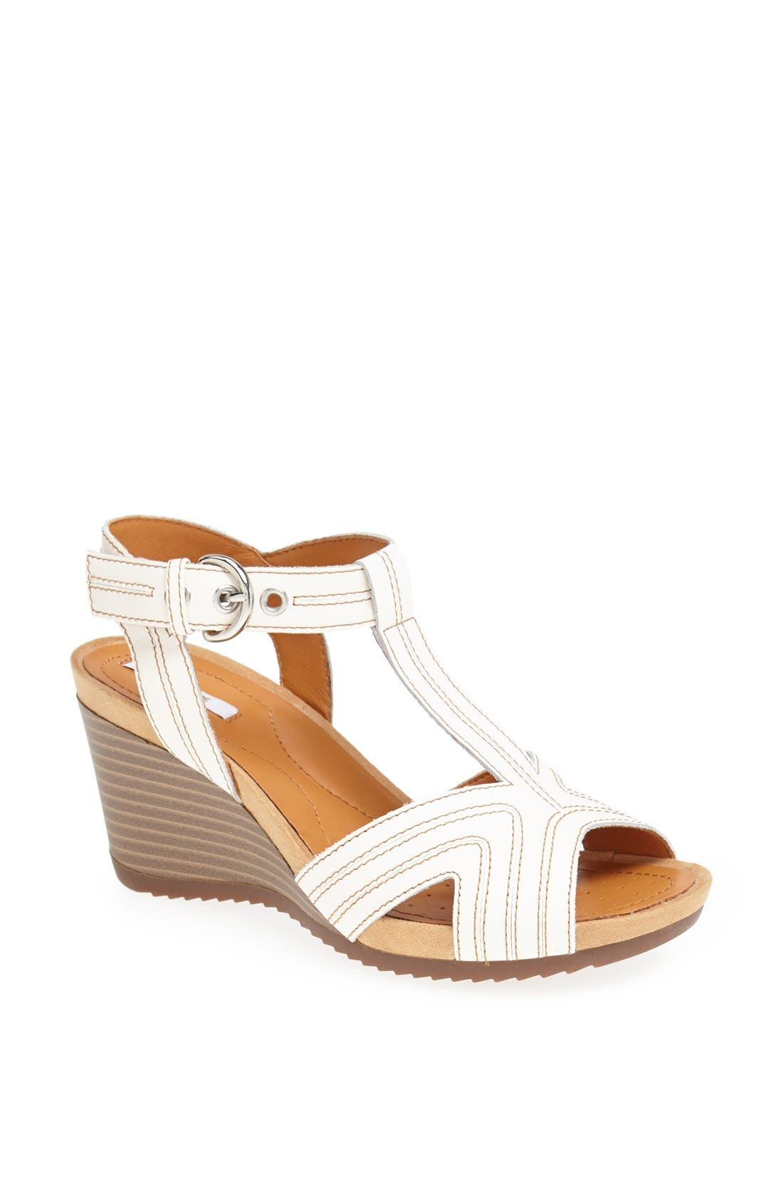 Alternate Image 1 Selected - Geox 'Roxy' Mid Wedge Sandal (Women)
