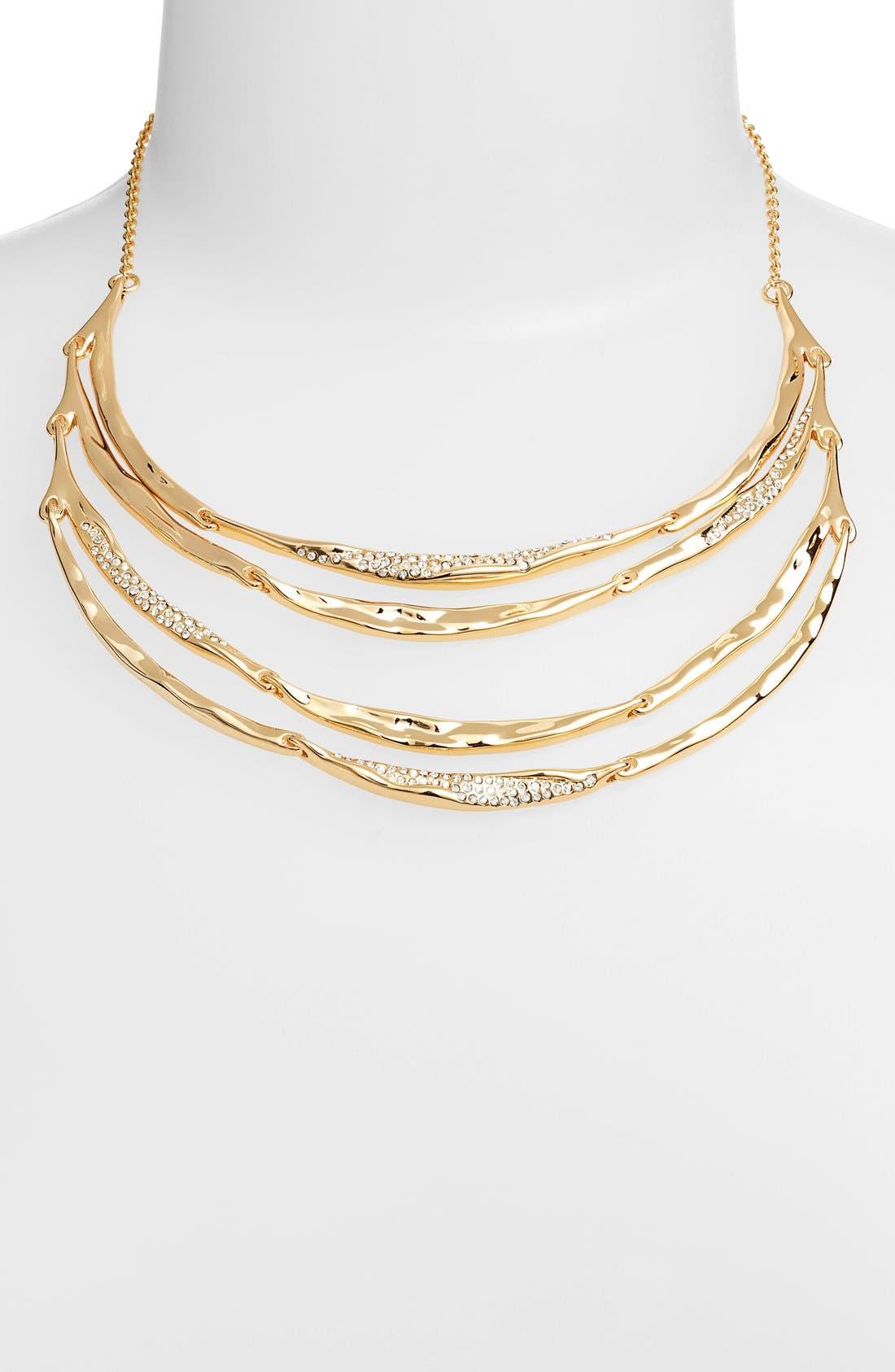 Alternate Image 2  - Miss Havisham - Liquid' Tiered Bib Necklace