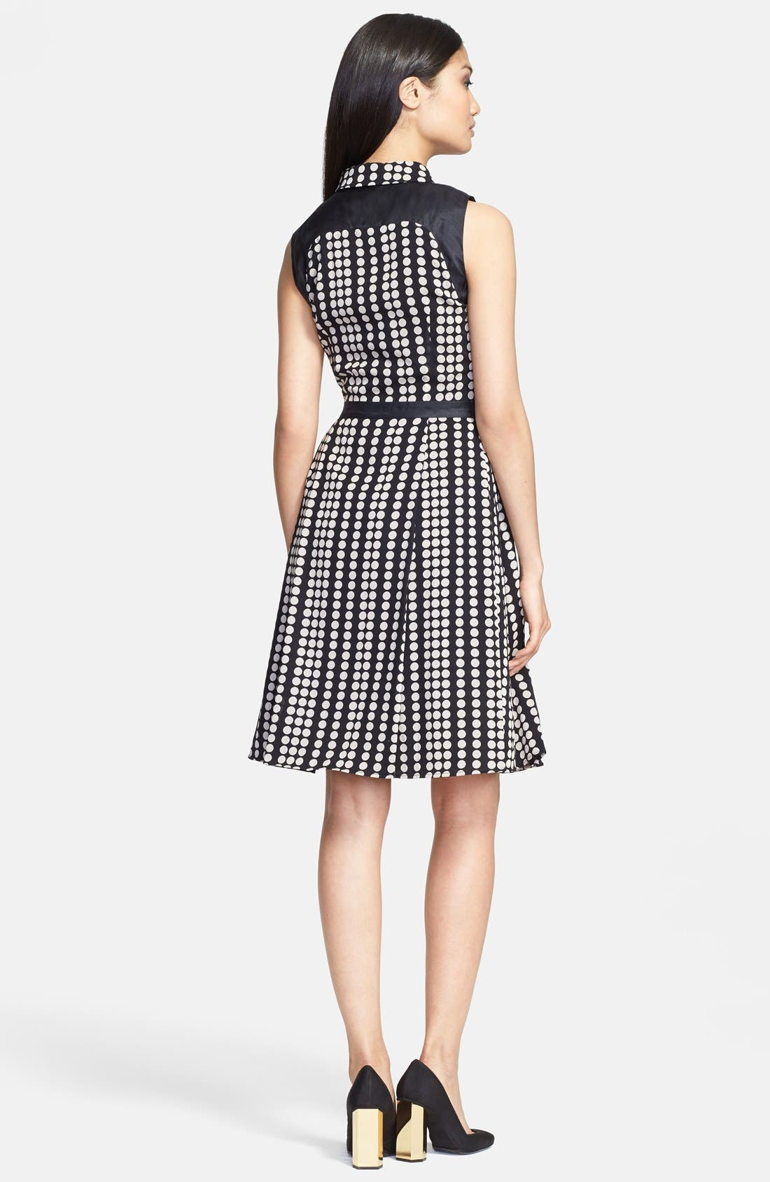 Alternate Image 2  - Tory Burch 'Katy' Stretch Silk Fit & Flare Dress