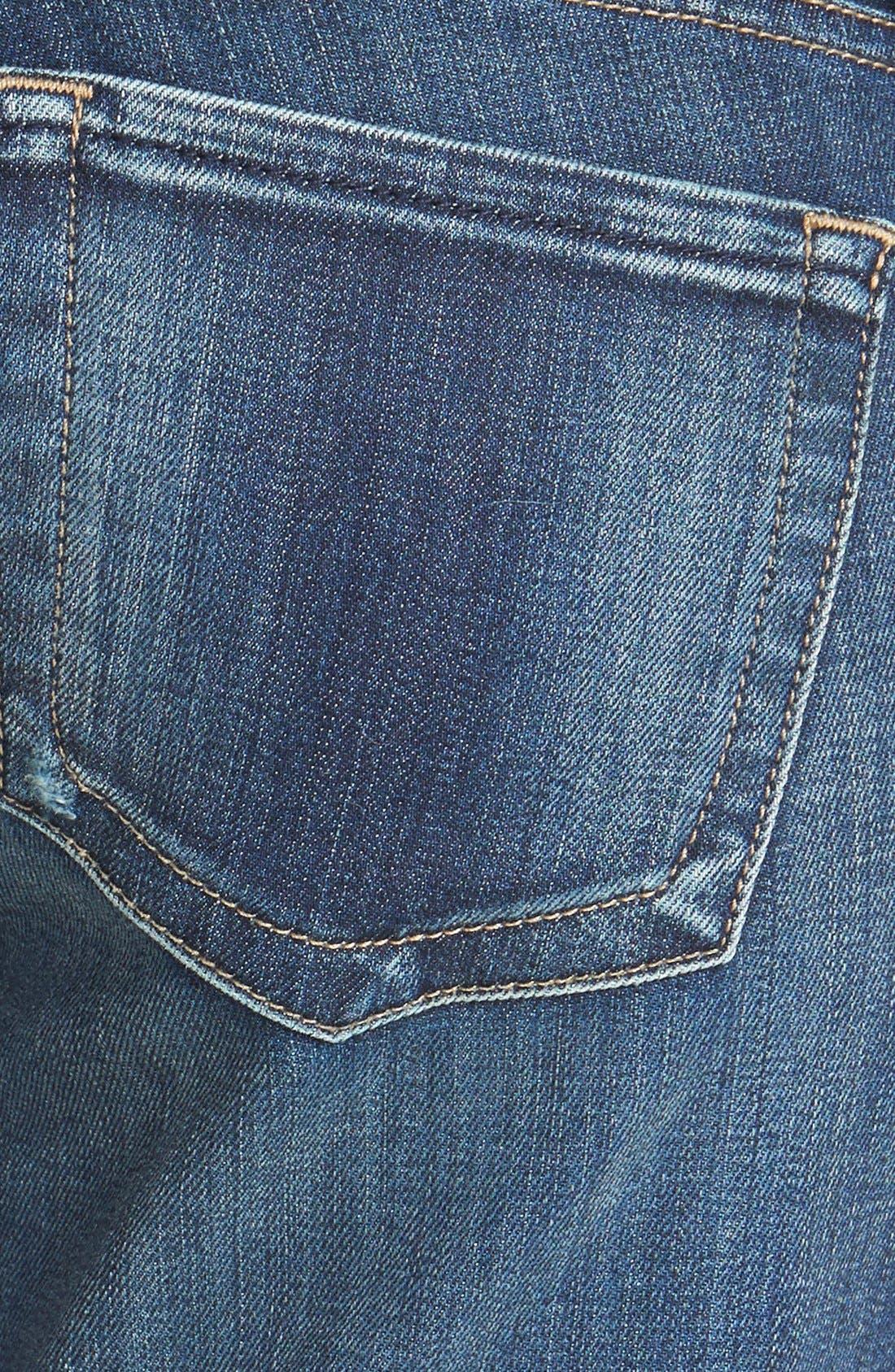 Alternate Image 3  - KUT from the Kloth 'Catherine' Destructed Slim Boyfriend Jeans (Dimple)
