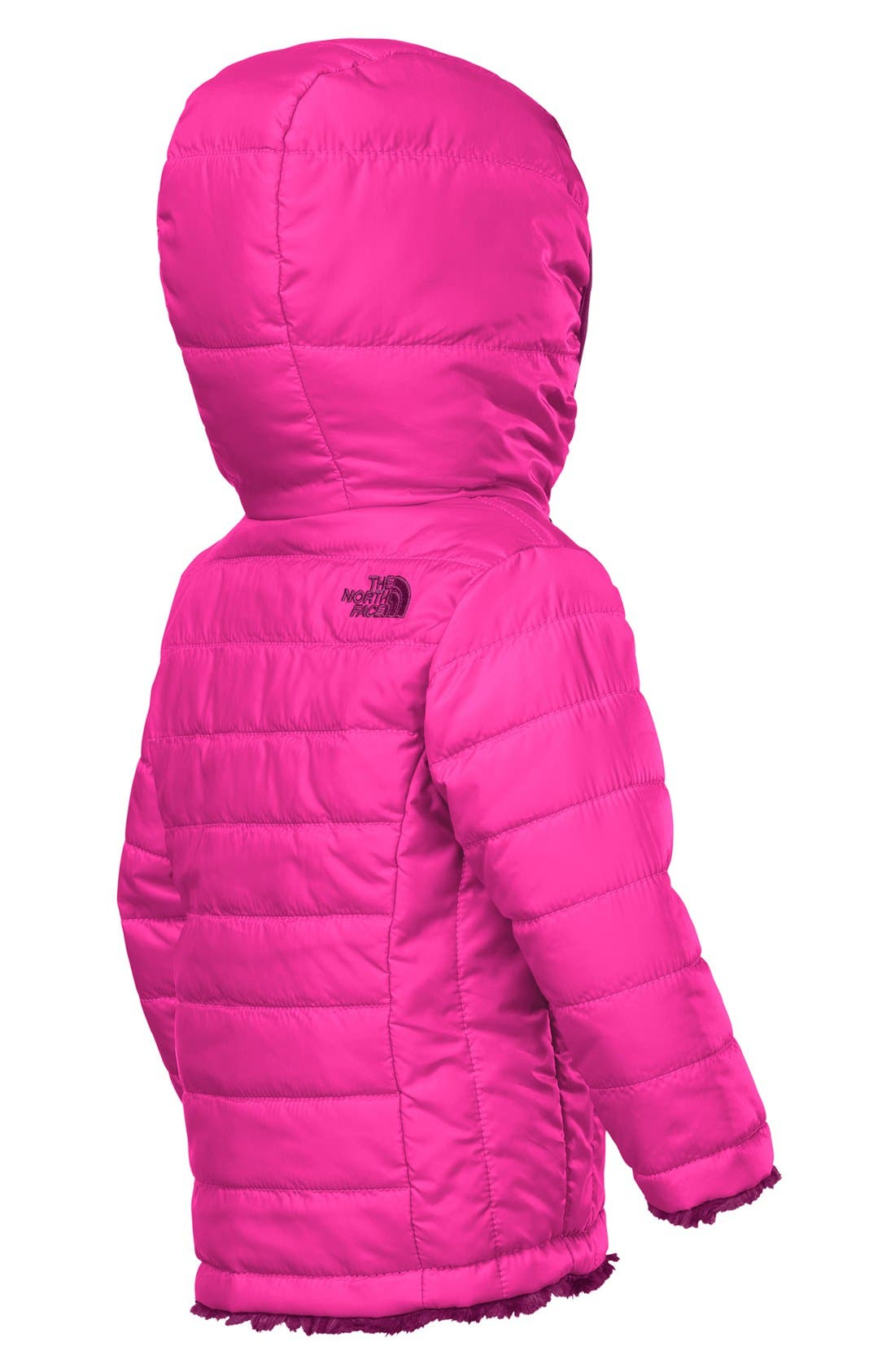 Alternate Image 2  - The North Face 'Mossbud Swirl' Reversible Water Repellent Jacket (Baby Girls)