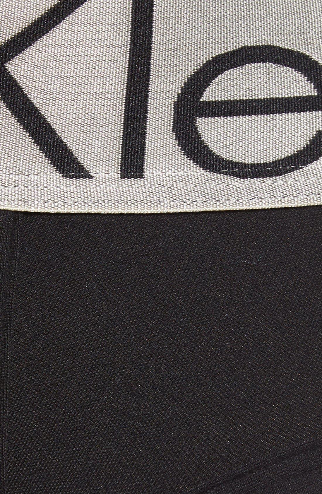 Alternate Image 3  - Calvin Klein 'Steel - U2715' Microfiber Hip Briefs