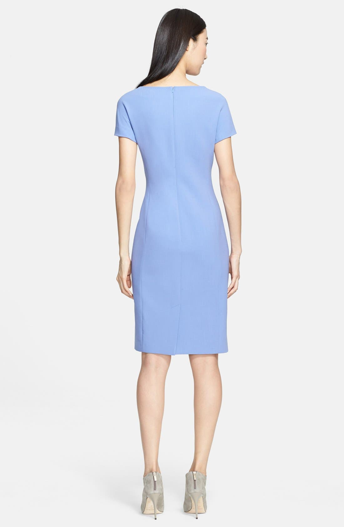 Alternate Image 2  - Max Mara 'Fiamma Doppio' Wool Crepe Dress