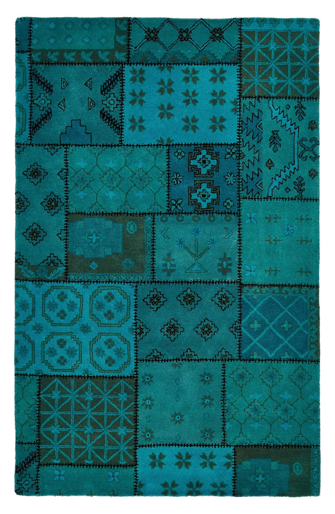 Alternate Image 1 Selected - Rizzy Home Hand Tufted Wool Area Rug