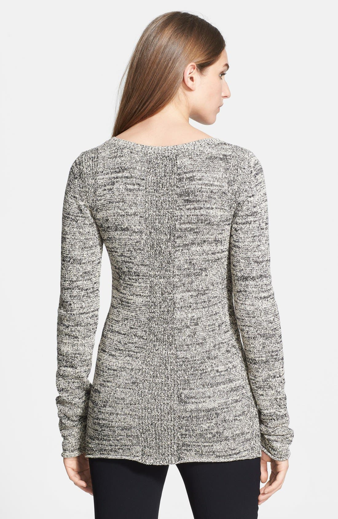 Alternate Image 2  - Halston Heritage Marled Sweater