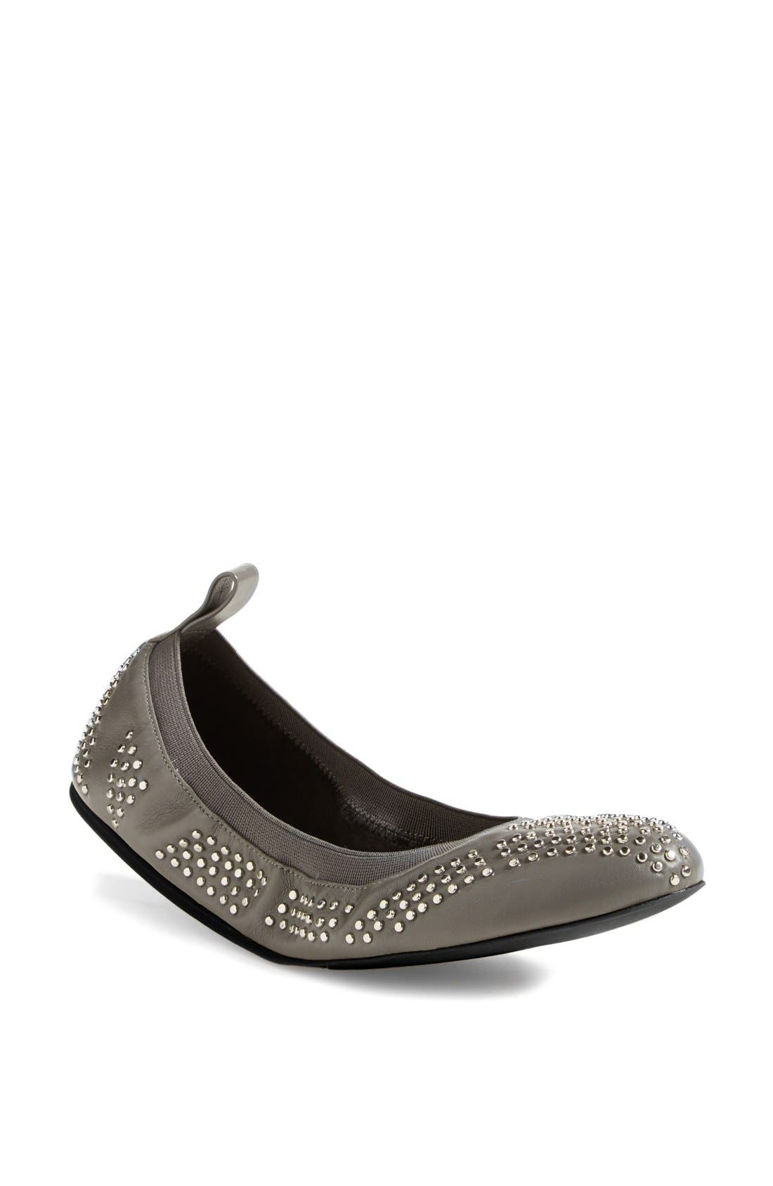 Main Image - See by Chloé Studded Leather Ballet Flat (Nordstrom Exclusive) (Women)