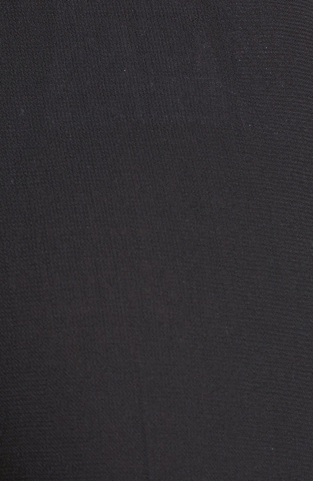 Alternate Image 3  - Santorelli Wool Crepe Straight Leg Pants