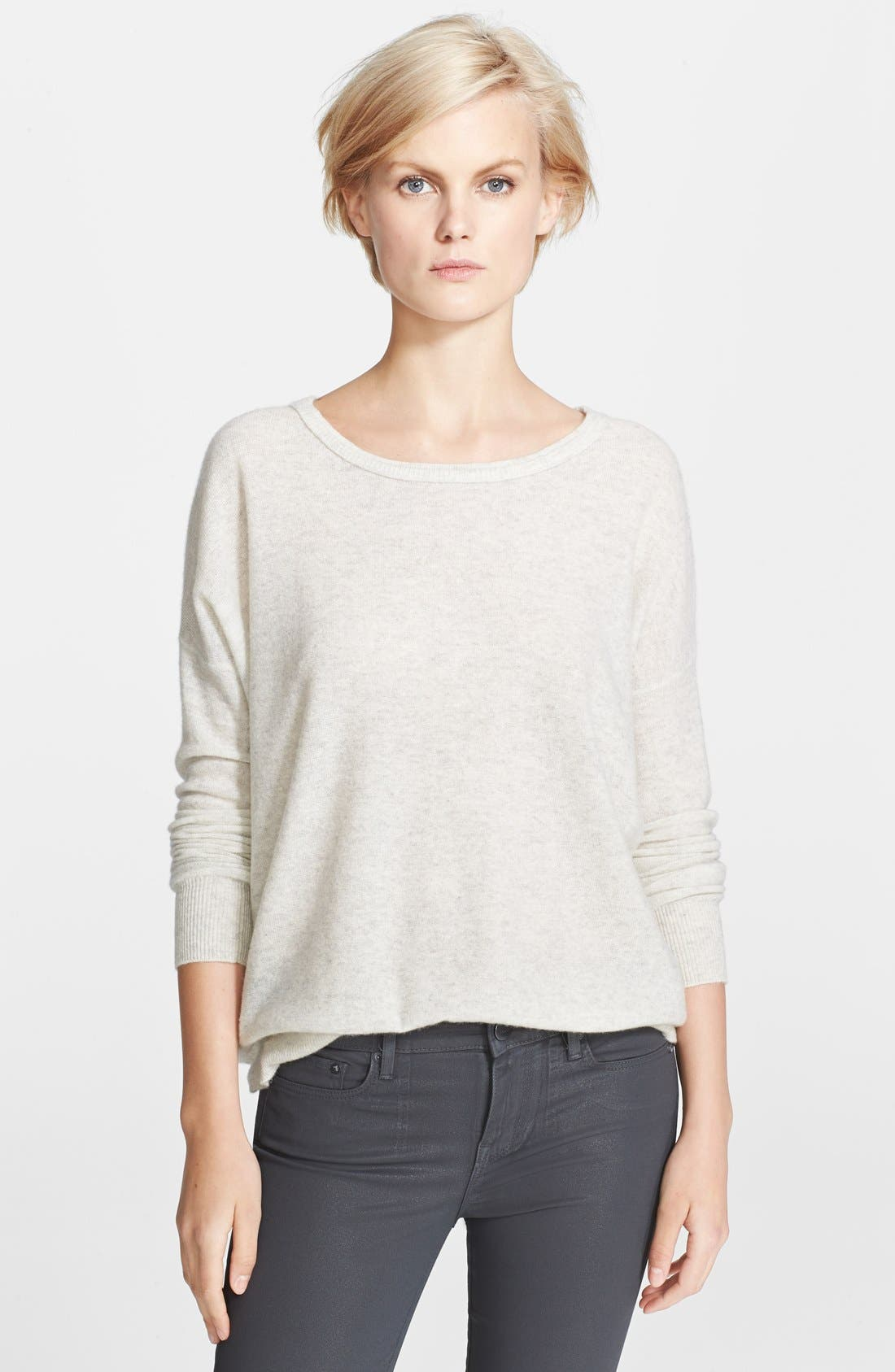 Alternate Image 1 Selected - Vince 'Square' Cashmere Sweater