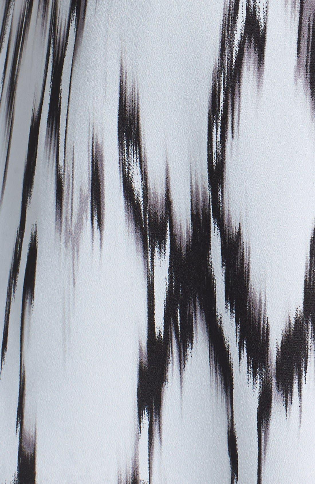 Alternate Image 3  - kensie 'Streaked Spots' Fit & Flare Dress