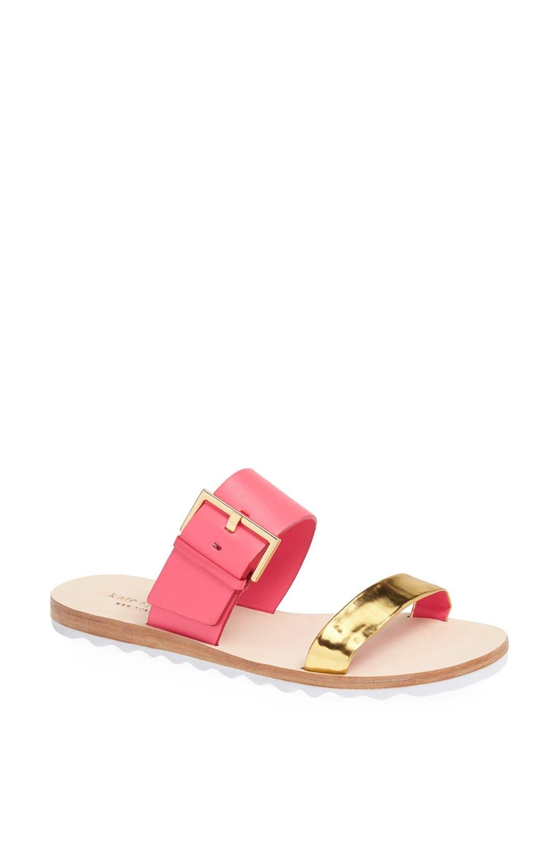 Alternate Image 1 Selected - kate spade new york 'attitude' slide sandal