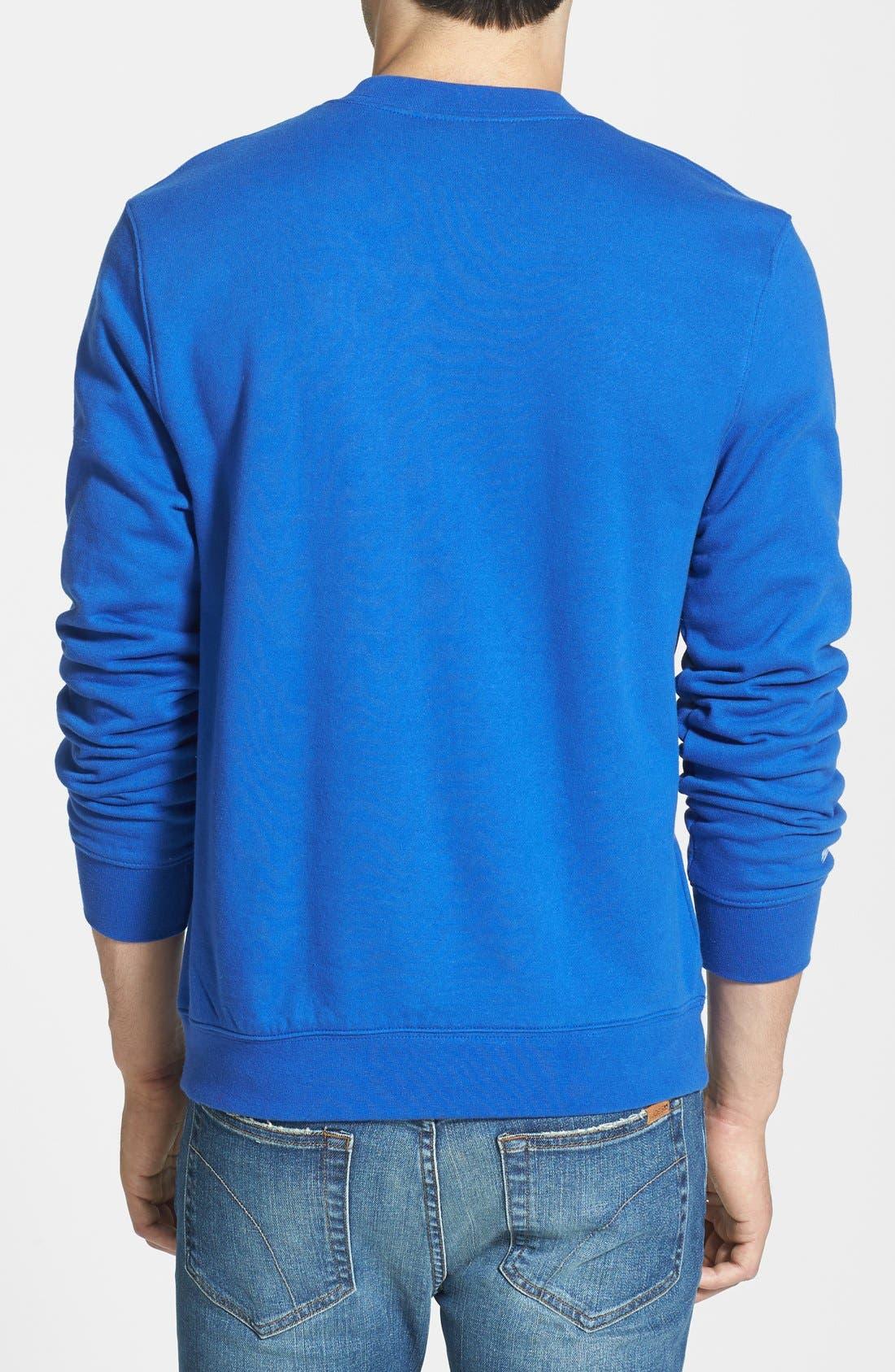 Alternate Image 2  - Mitchell & Ness 'Chicago Cubs' Crewneck Sweatshirt