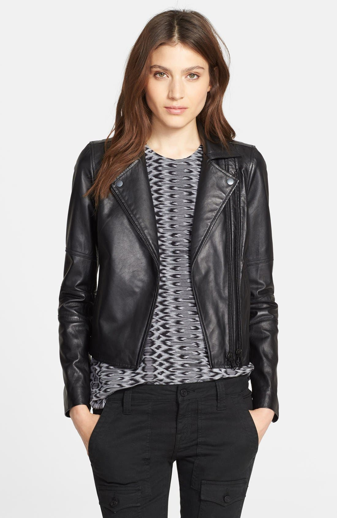 Alternate Image 1 Selected - Joie 'Davey' Leather Jacket