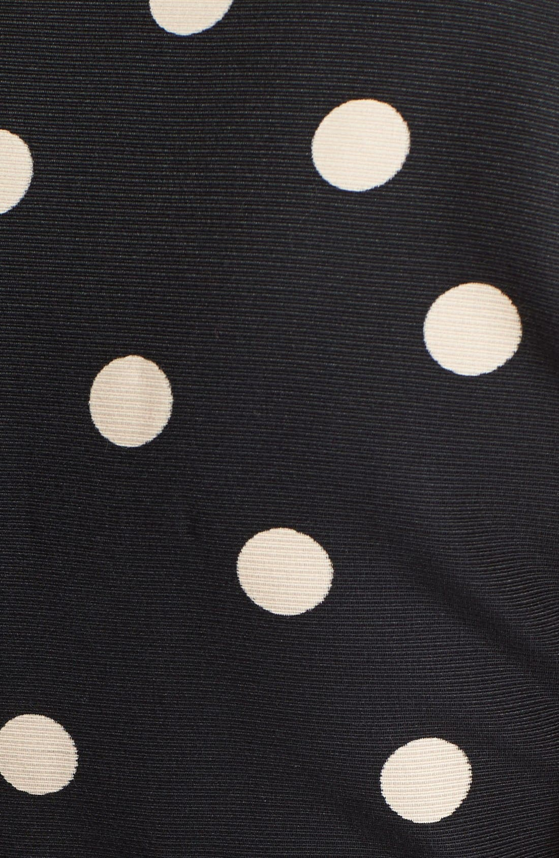 Alternate Image 3  - kate spade new york 'deco dot' fit & flare dress