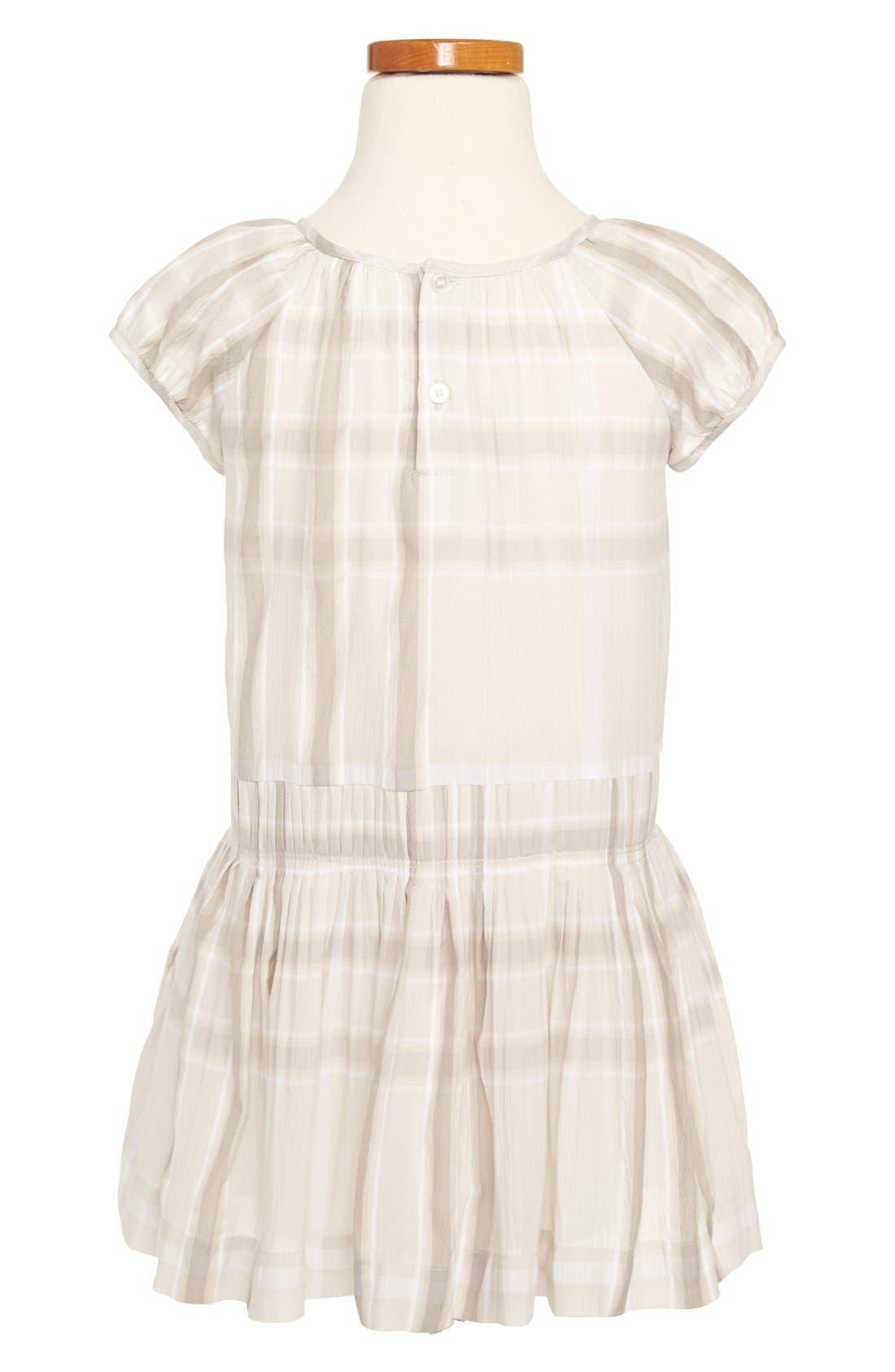 Alternate Image 2  - Burberry 'Edemme' Dress (Little Girls & Big Girls)