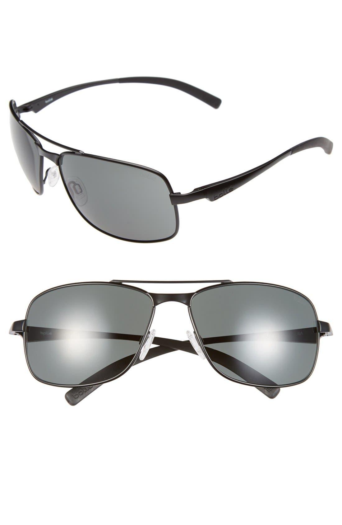 Alternate Image 1 Selected - Bolle 'Skylar' 63mm Aviator Sunglasses