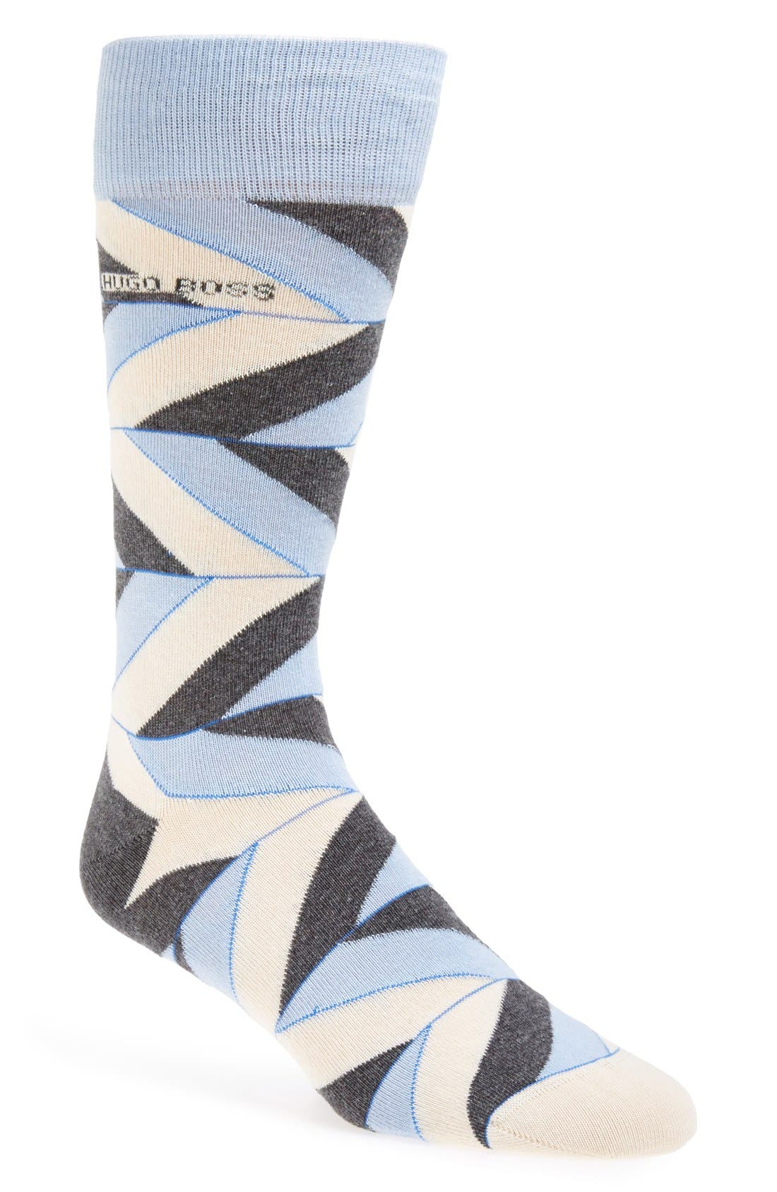 Alternate Image 1 Selected - BOSS HUGO BOSS Stripe Socks
