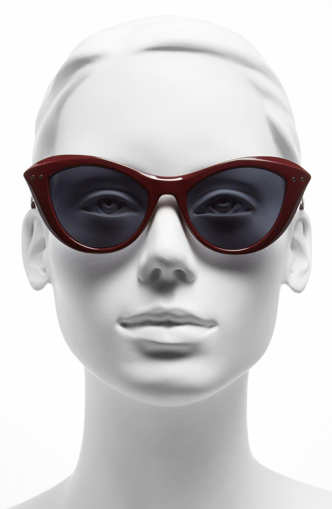 Alternate Image 2  - A.J. Morgan 'Siren' 50mm Cat Eye Sunglasses